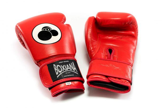 guantes boxeo rojo