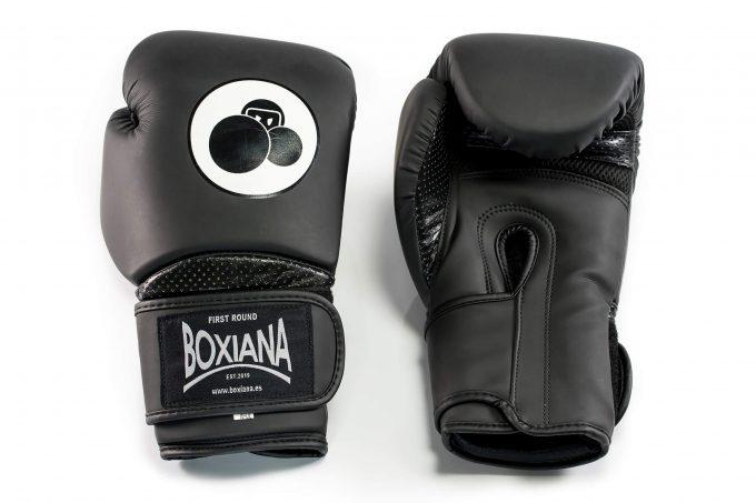 guante boxeo negro